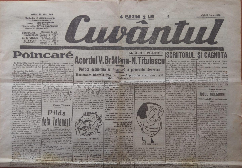 Acordul V. Brătianu – N. Titulescu